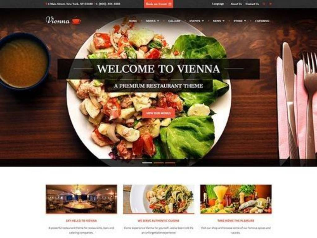 Food Photography aesthetic website