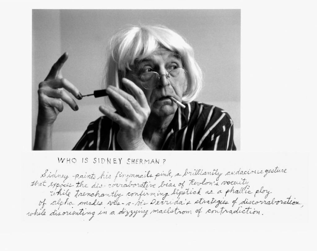duane michals who is Sidney Sherman