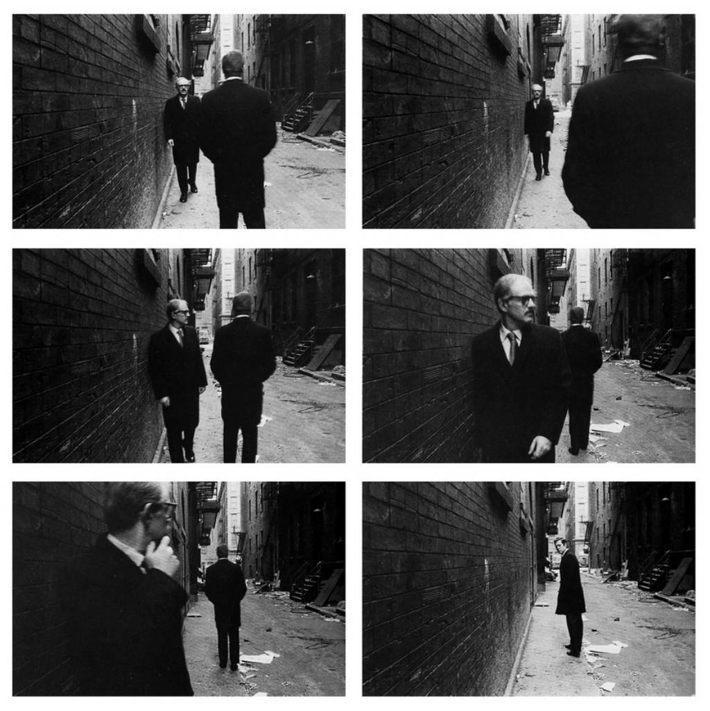 duane michals chance meeting