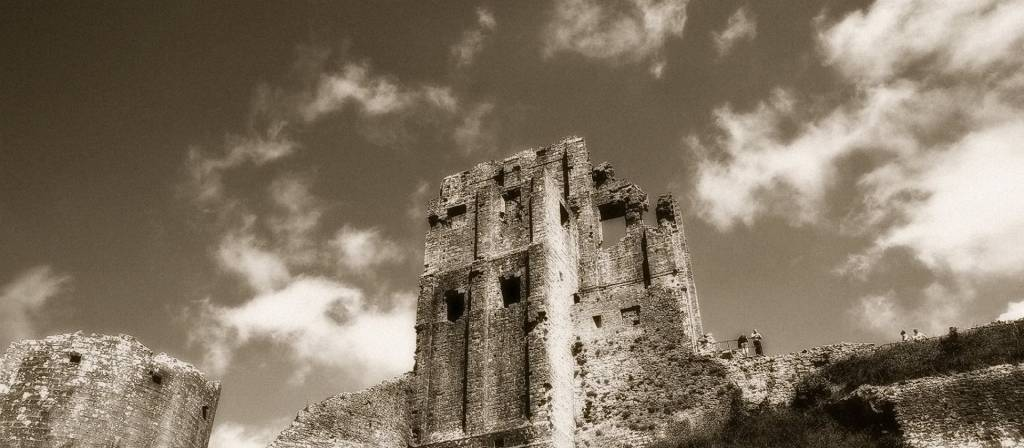 Haunted Castle Dorset Corfe