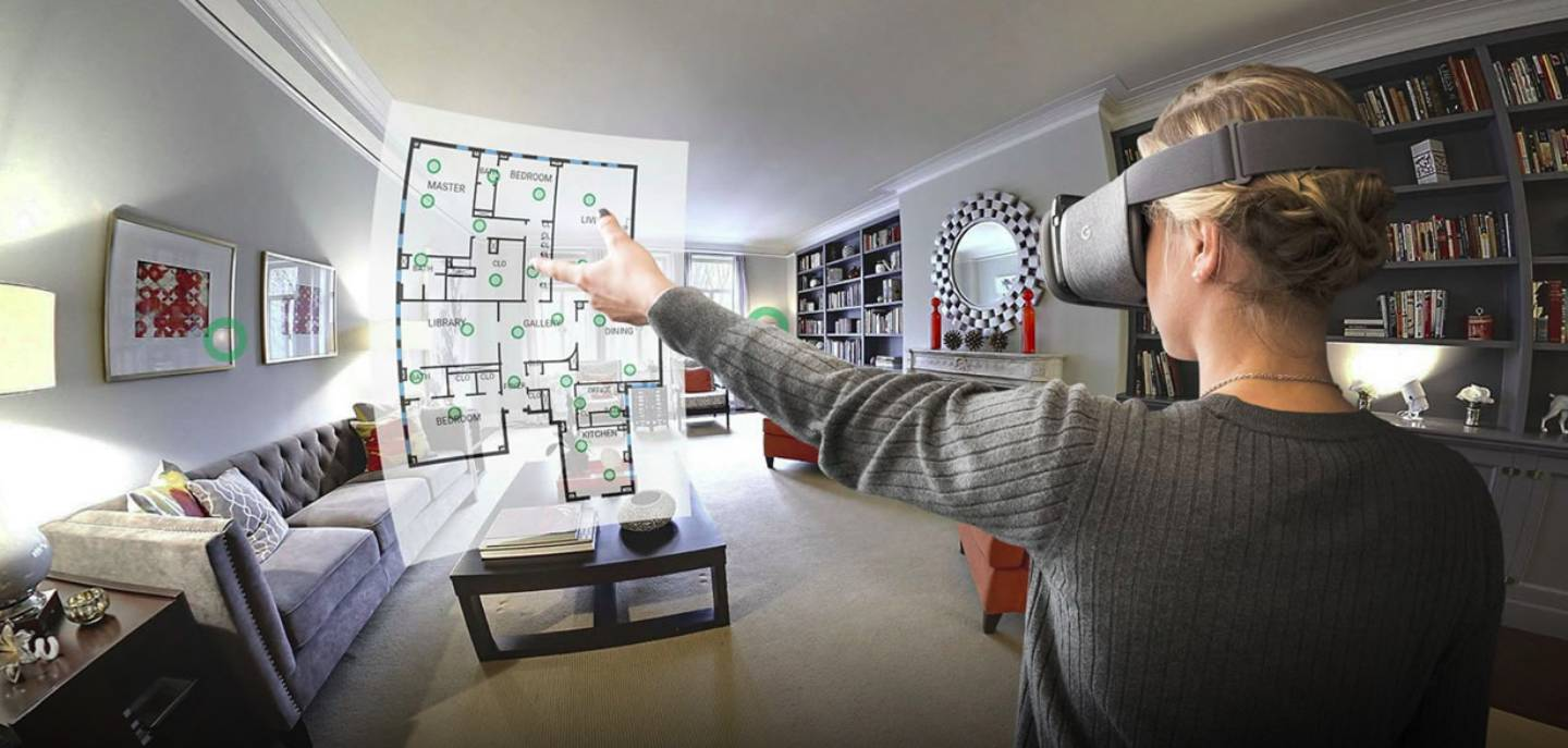 Virtual reality tours in real estate