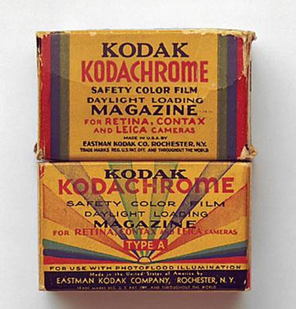 Kodachrome colour film