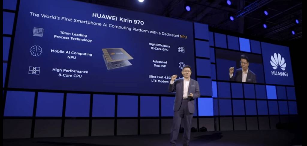 Presentation of the first Smartphone with NPU system by Huawei