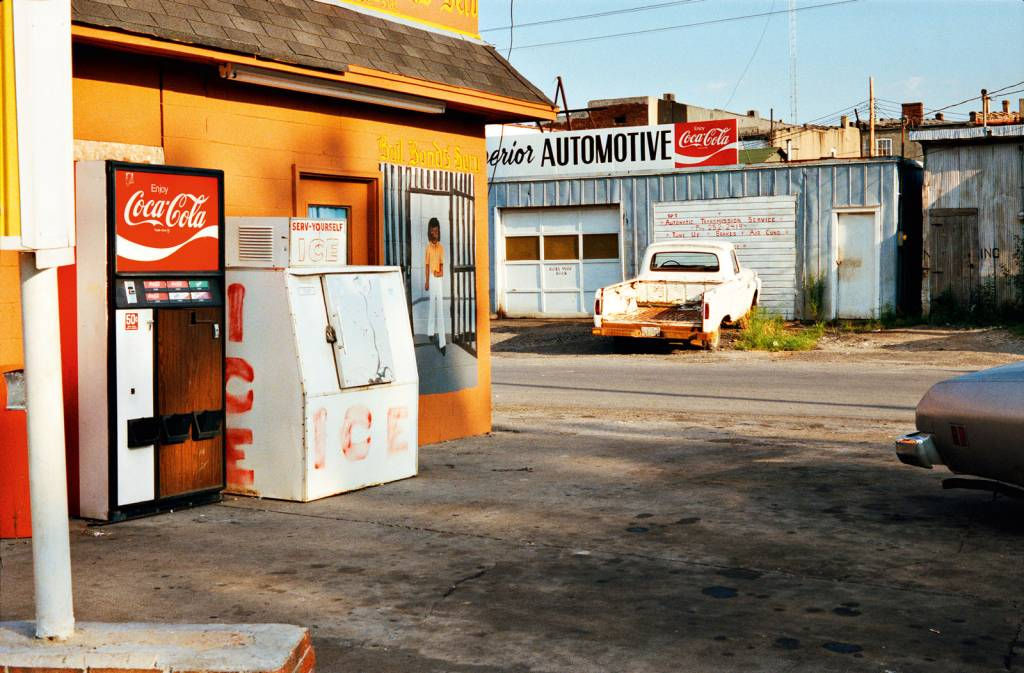 William Eggleston portray realism with colour