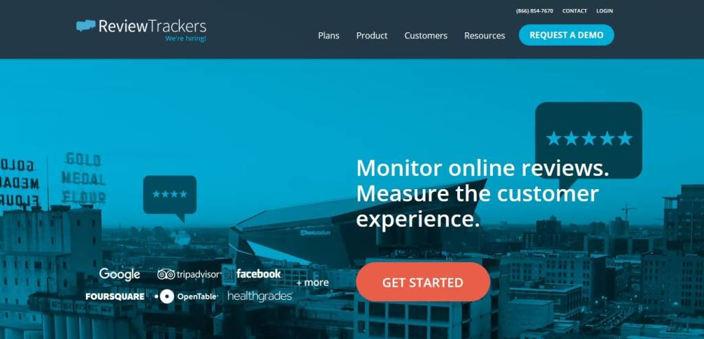 review trackers avis clients