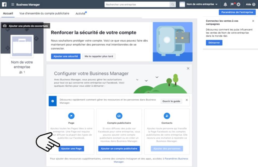 Home Facebook Business Manager