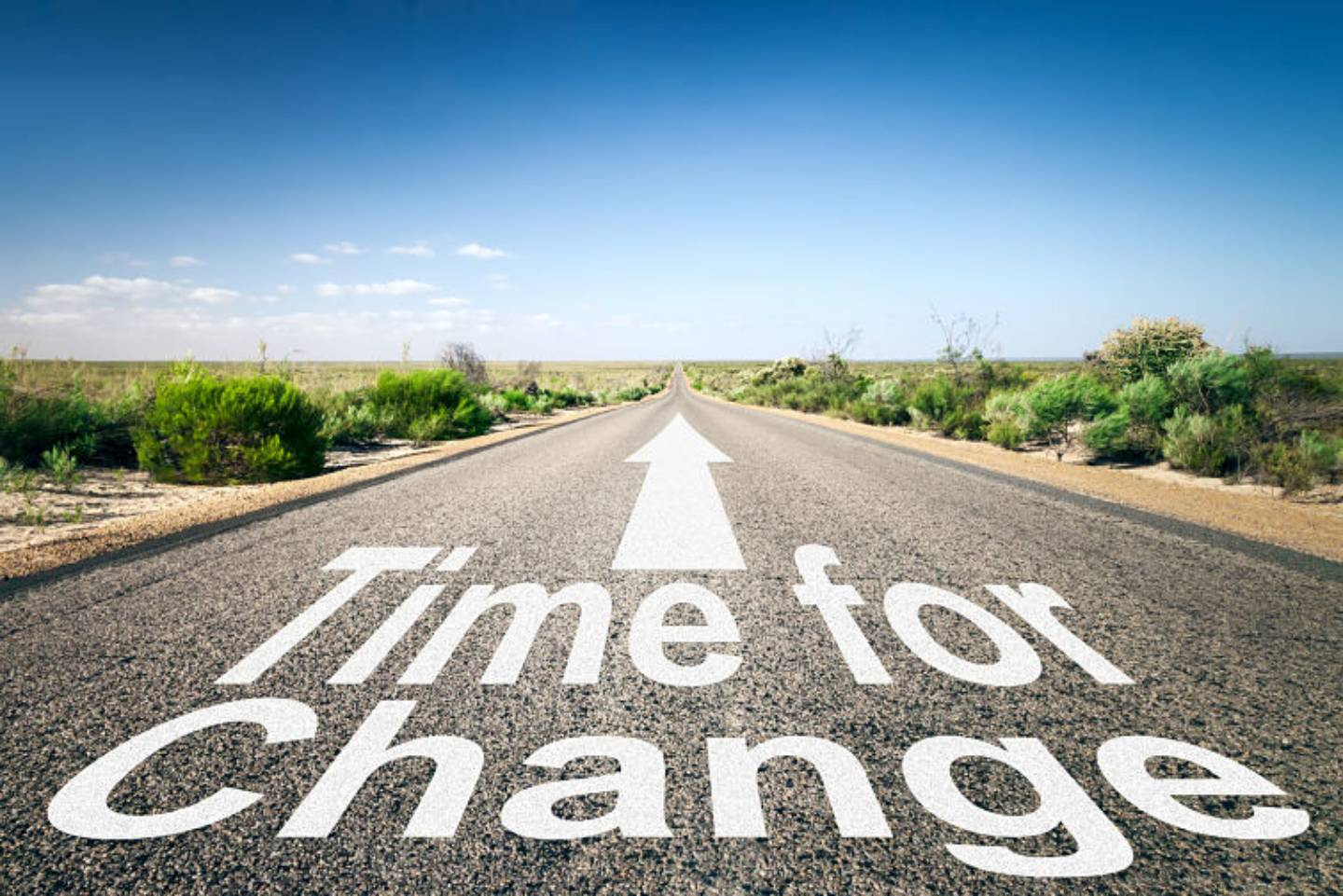 Time for change road