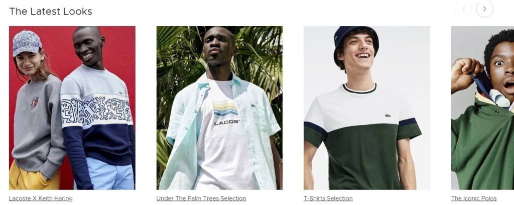 lacoste product photos