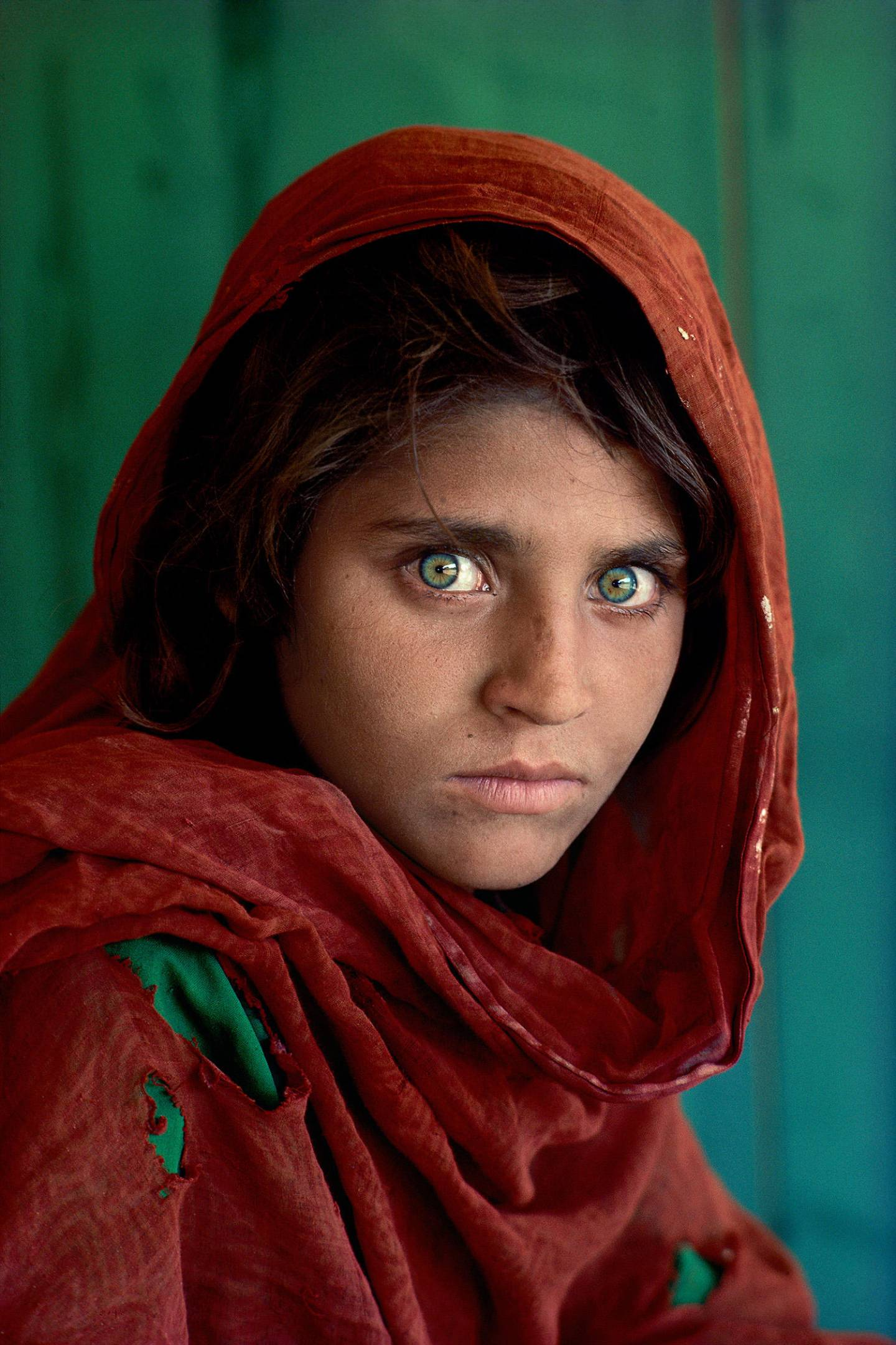 steve mccurry fille afghane