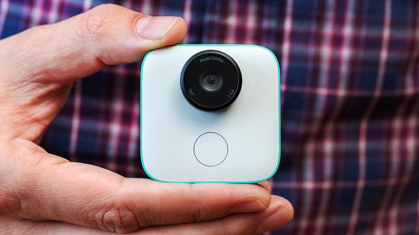 Google Clips Camera Being Held