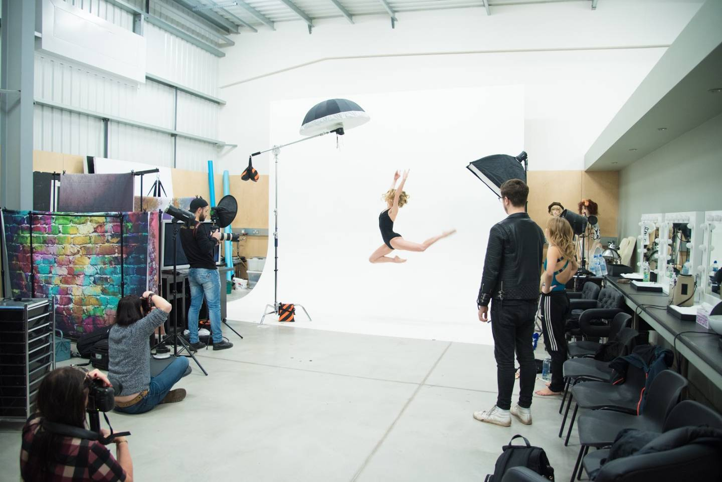Dance Photography in studio