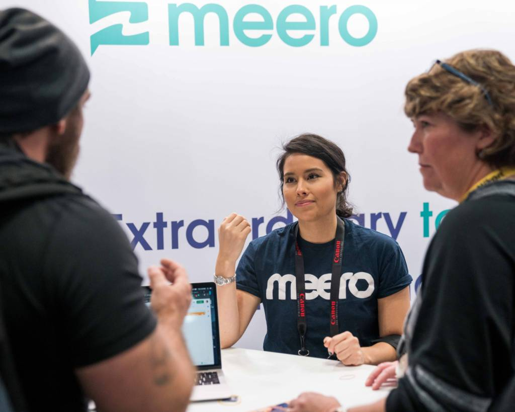 Meero's booth at PhotoPlus 2019!