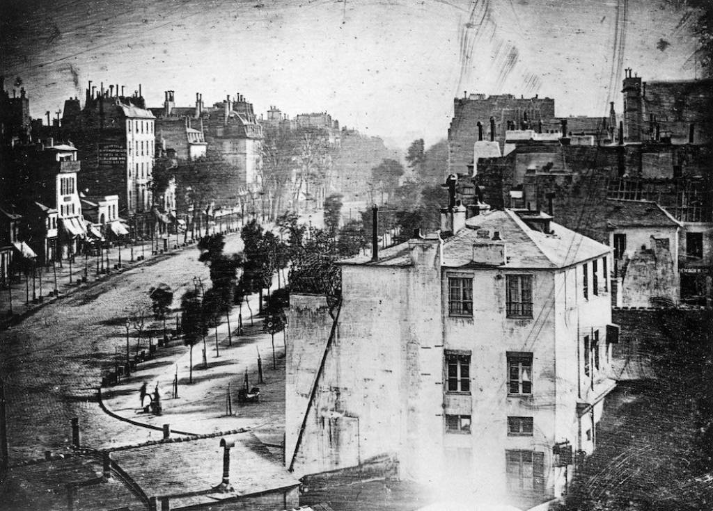 first photograph ever taken