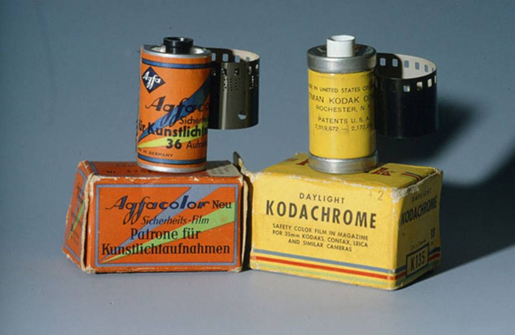 Agfacolor vs kodachrome colour photography