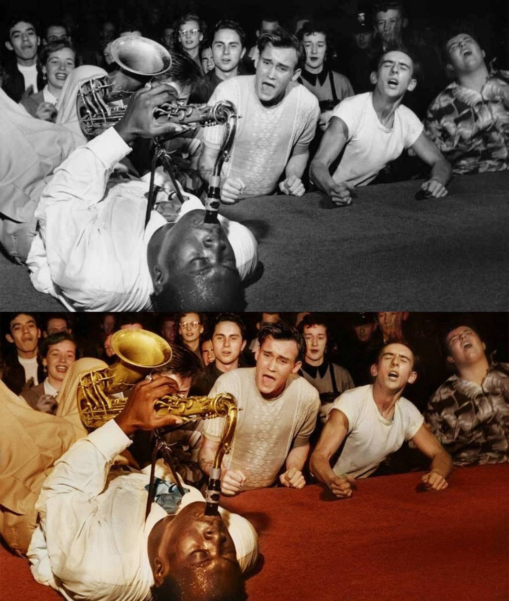 Big Jay McNeely  Olympic Auditorium LA 1953