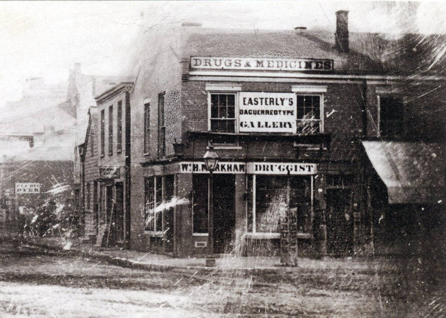 Easterly's Daguerreotype Gallery, St. Louis, 1851