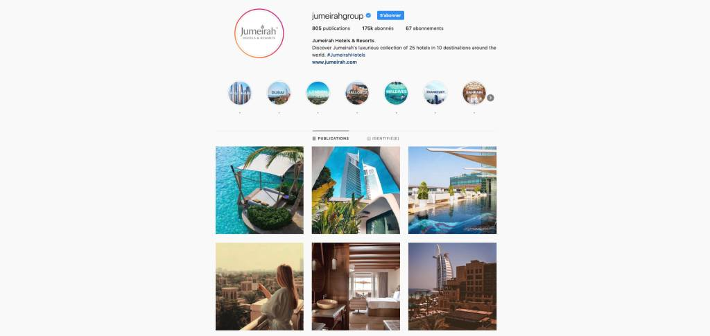 JumeiraGroup Instagram