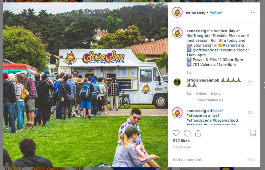 Senor Sisig Food Truck