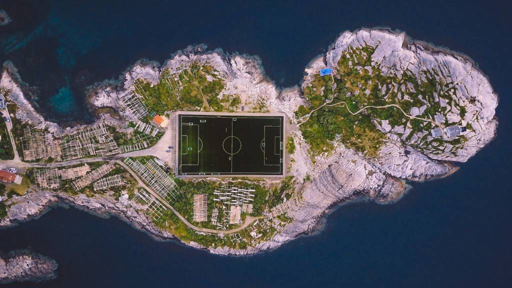 Football Island by Brent De Bleser