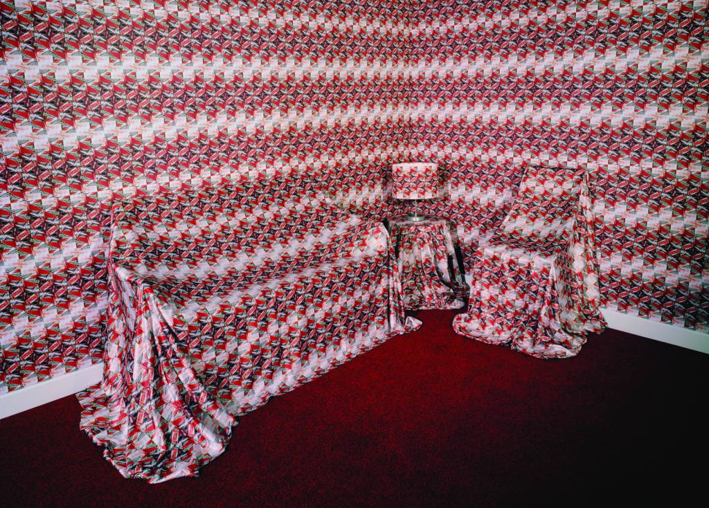 RCA Emily Elkins red cloth