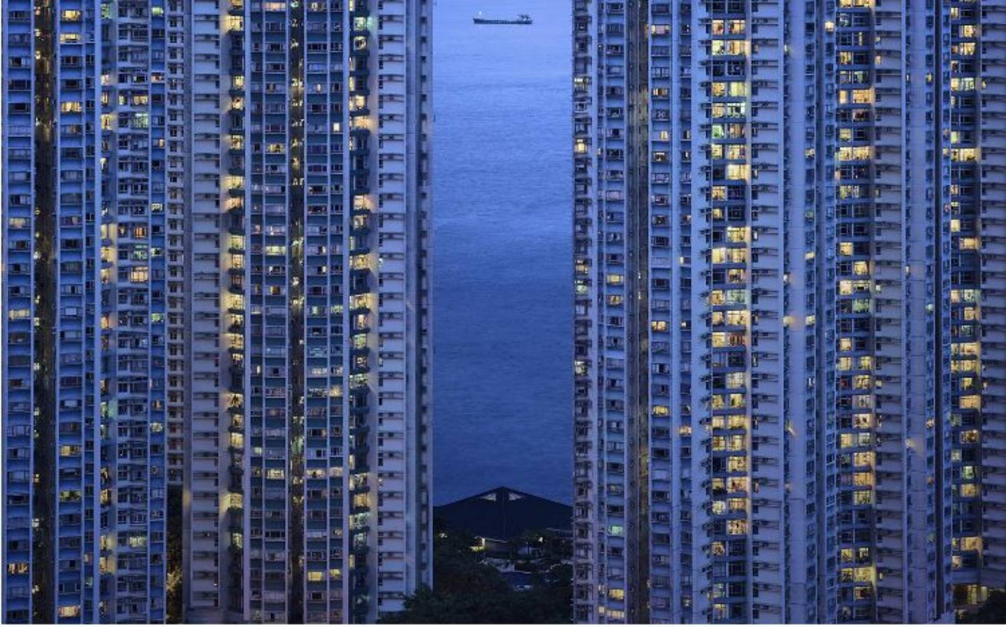Immeubles Hong Kong romain jacquet