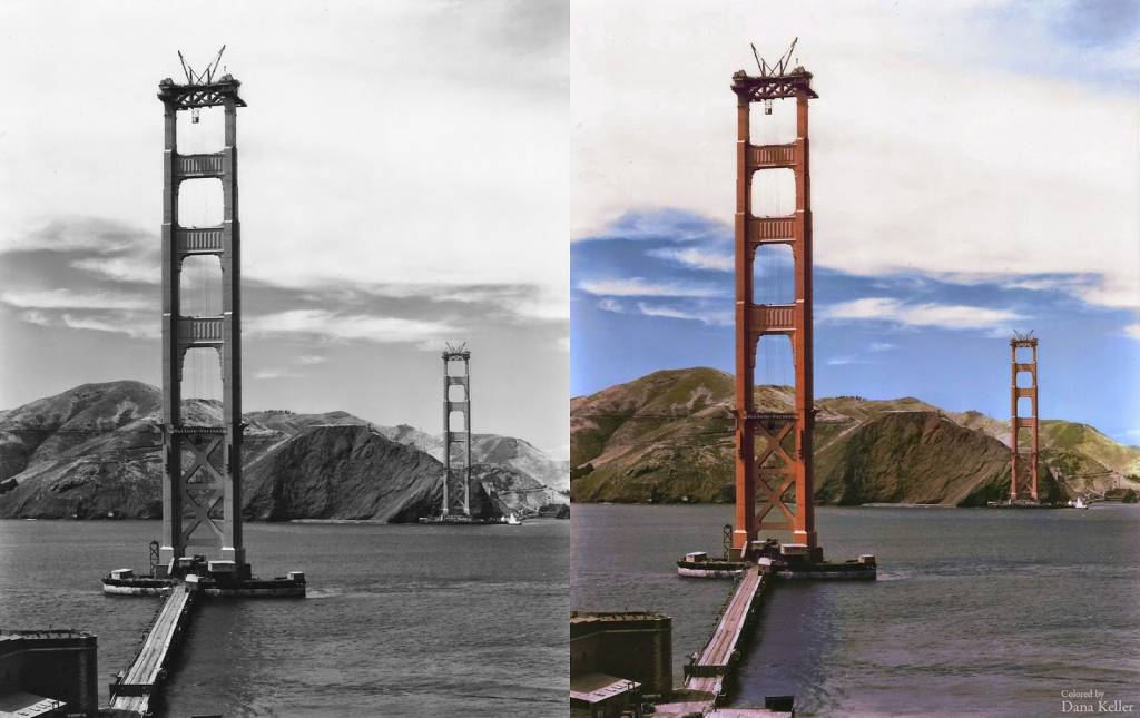 Golden Gate Bridge 1935