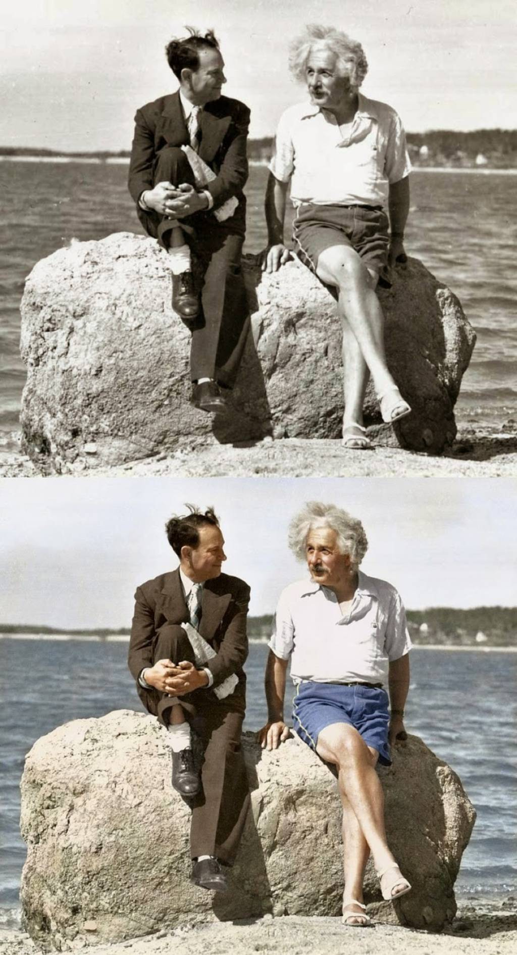 Albert Einstein, Summer, Nassau Point
