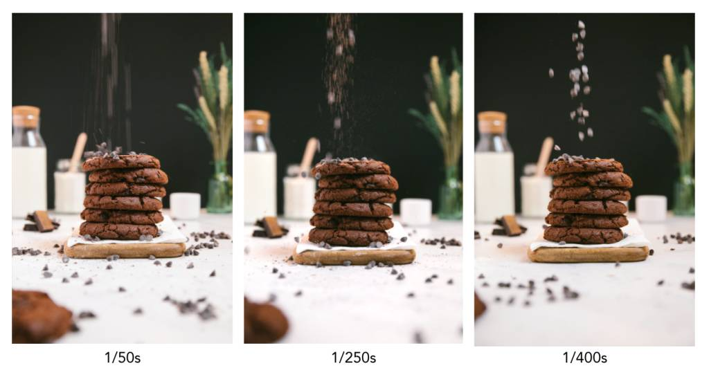 Shutter Speed food photography
